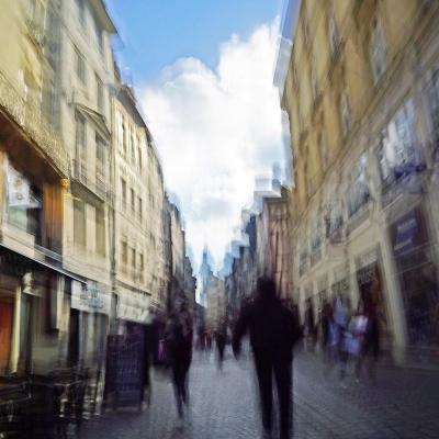 17-Rouen. Rue du Gros horloge. Les boutiques. TIRAGE 1/1 DISPONIBLE