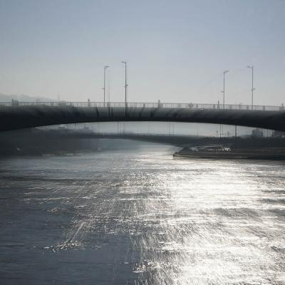 25-Rouen. Le Pont Boieldieu. TIRAGE 1/1 DISPONIBLE