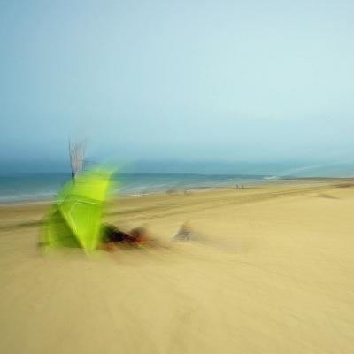 Lion-sur-Mer. Oasis. Tirage unique disponible