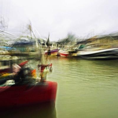 Port-en-Bessin (6). Voyage. Tirage unique disponible
