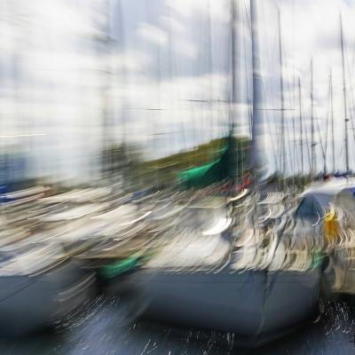 Port de plaisance de Ouistreham. Format 60/90 cm. Tirage unique DISPONIBLE