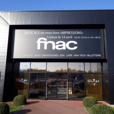 FNAC dédicace Impressions vol1. 4 photos
