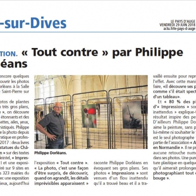 Saint-Pierre-en-auge. Articles de presse