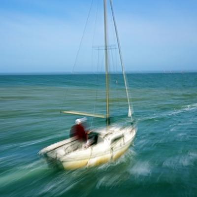 Saint-Vaast-la-Hougue. Promenade en bateau (2)